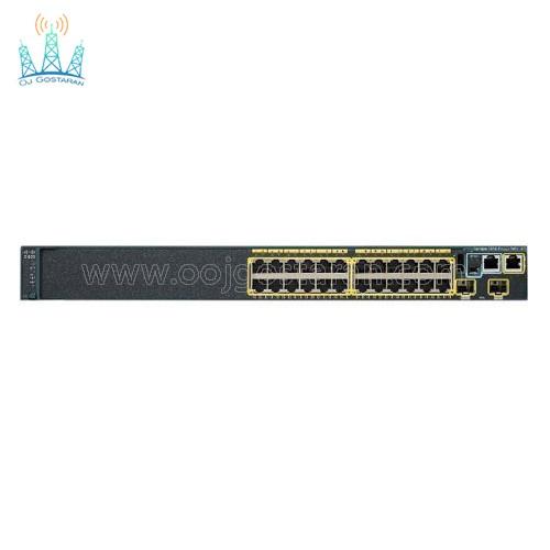 سوئیچ شبکه سیسکو 24 پورت مدل WS-C2960S-24PS-L